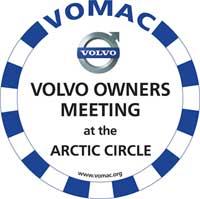 Volvo Owners Meeting at the Arctic Circle